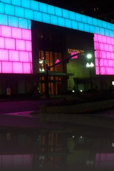 Allan's installation at Nordstrom